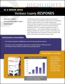 Rx & Heroin Abuse: Ventura County RESPONDS - HIGHLIGHTS