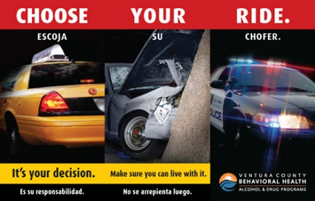 Choose Your Ride Campaign Brochure